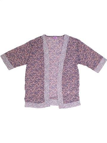 Gilet fille F&F violet 10 ans été #1306784_1