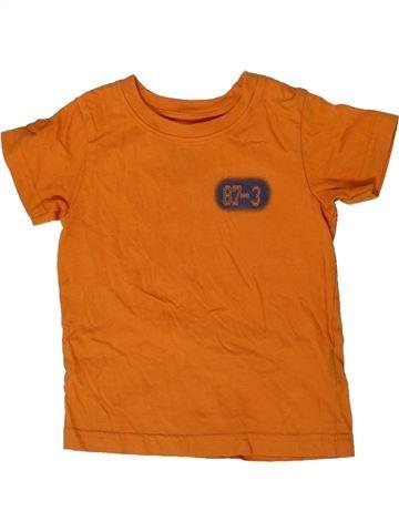 Camiseta de manga corta niño LADYBIRD naranja 18 meses verano #1306794_1