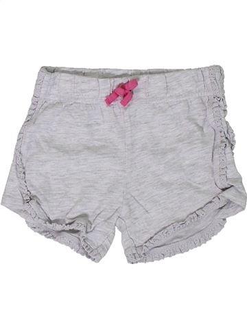 Short - Bermuda fille F&F gris 12 mois été #1306802_1