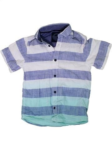 Chemise manches courtes garçon NEXT bleu 5 ans été #1306808_1