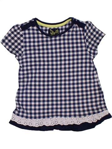 Camiseta de manga corta niña TU azul 3 años verano #1306831_1