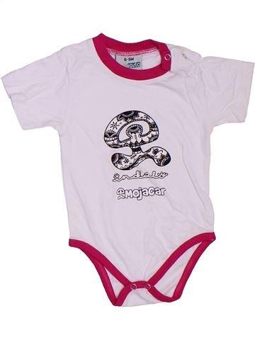 Camiseta de manga corta niño BEKOSTA blanco 9 meses verano #1306853_1