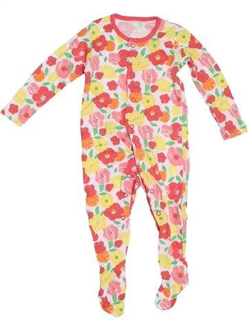 Pijama de 1 pieza niña F&F beige 9 meses verano #1306876_1