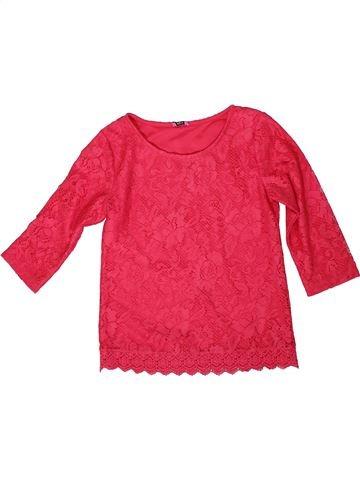 Camiseta de manga larga niña F&F rojo 10 años invierno #1306984_1