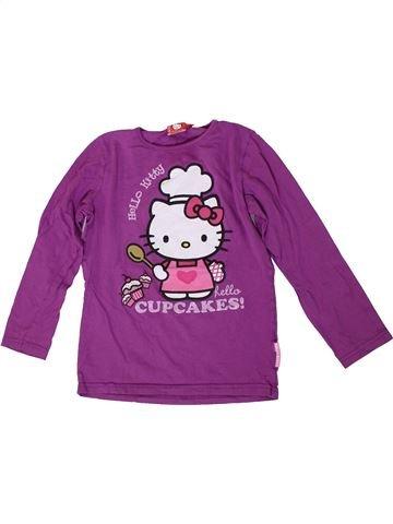Camiseta de manga larga niña HELLO KITTY violeta 9 años invierno #1306994_1