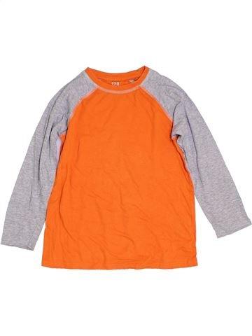 Camiseta de manga larga niño Y.F.K naranja 8 años invierno #1307200_1