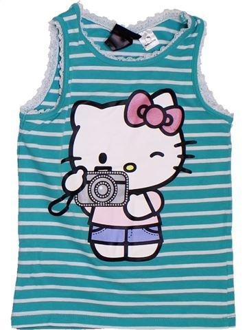 Camiseta sin mangas niña H&M azul 4 años verano #1307211_1