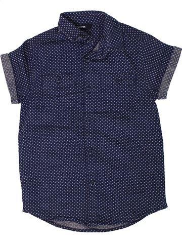 Camisa de manga corta niño GEORGE azul 5 años verano #1307251_1