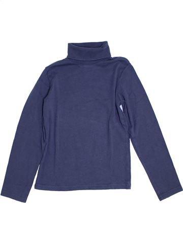 Camiseta de cuello alto niño H&M azul 10 años invierno #1307318_1