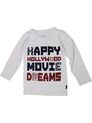 Camiseta de manga larga niño NAME IT blanco 4 años invierno #1307438_1