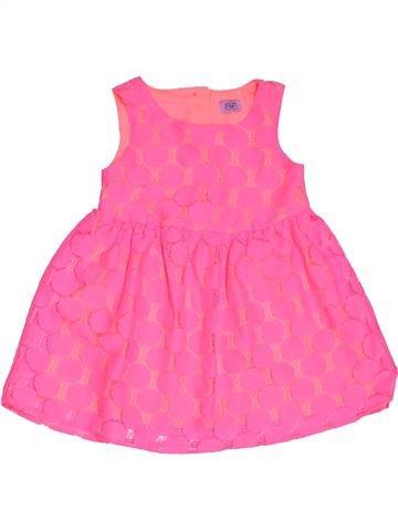 Vestido niña F&F rosa 2 años verano #1307526_1
