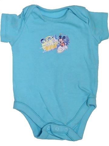 Camiseta de manga corta niño DISNEY azul 6 meses verano #1307533_1