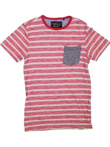 Camiseta de manga corta niño OFFICERS CLUB rosa 14 años verano #1307653_1