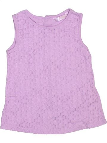 Camiseta sin mangas niña MATALAN rosa 7 años verano #1307768_1