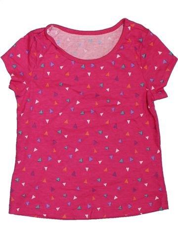 Camiseta de manga corta niña WOOLWORTHS rosa 3 años verano #1307775_1