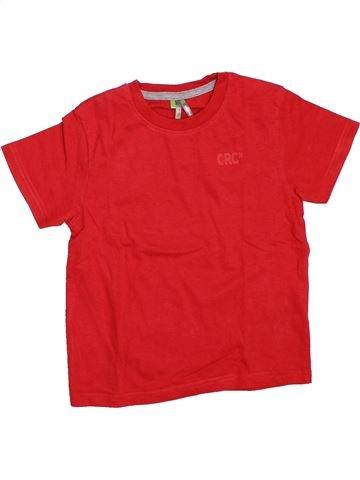 Camiseta de manga corta niño ORCHESTRA rojo 5 años verano #1307882_1