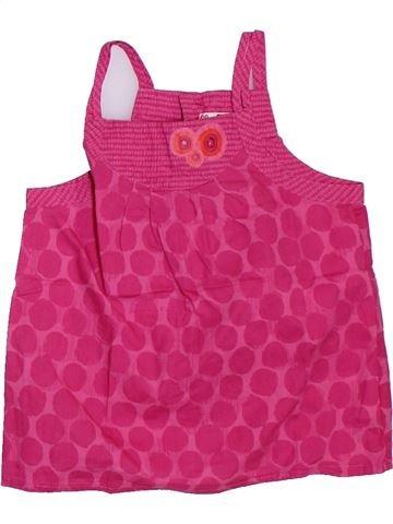 Blusa de manga corta niña DPAM rosa 3 años verano #1307931_1