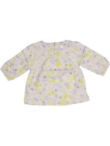 Blusa de manga larga niña VERTBAUDET blanco 5 años invierno #1307953_1