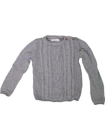 jersey niña H&M gris 8 años invierno #1307990_1