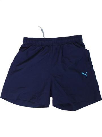 Pantalon corto deportivos niño PUMA azul 10 años verano #1308007_1