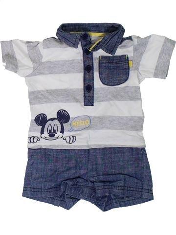 Combinación corta niño GEORGE azul 3 meses verano #1308079_1