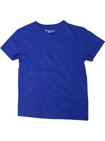 T-shirt manches courtes garçon GEMO bleu 10 ans été #1308123_1