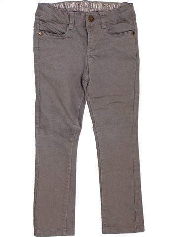 Pantalón niña TAPE À L'OEIL gris 3 años invierno #1308127_1