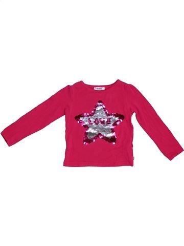 Camiseta de manga larga niña OKAIDI rosa 3 años invierno #1308158_1