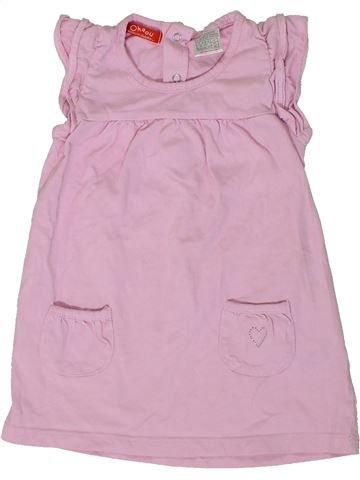 Vestido niña OKAIDI rosa 2 años verano #1308182_1