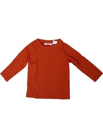 T-shirt manches longues garçon LA REDOUTE CRÉATION rouge 18 mois hiver #1308205_1