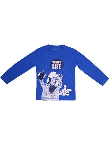 Camiseta de manga larga niño GEMO blanco 6 años invierno #1308228_1