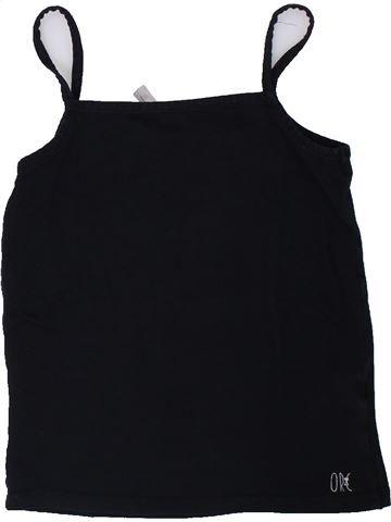 T-shirt sans manches fille ORCHESTRA noir 8 ans été #1308231_1