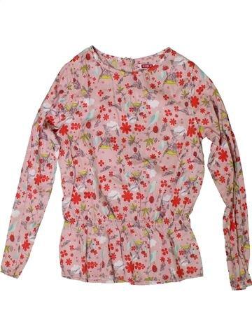 Blusa de manga larga niña DPAM rosa 10 años invierno #1308335_1
