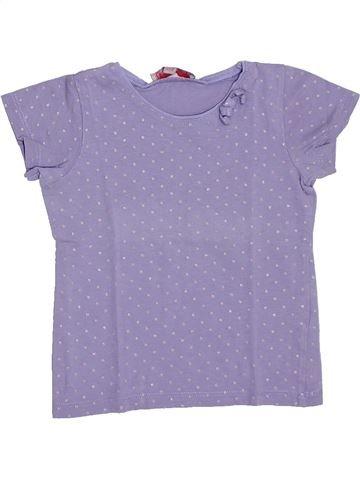 Camiseta de manga corta niña LISA ROSE violeta 3 años verano #1308440_1