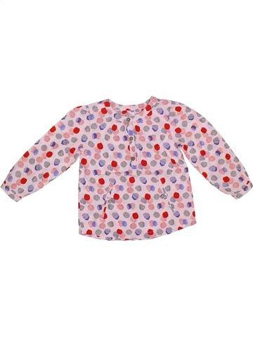 Blusa de manga larga niña DPAM rosa 3 años invierno #1308480_1