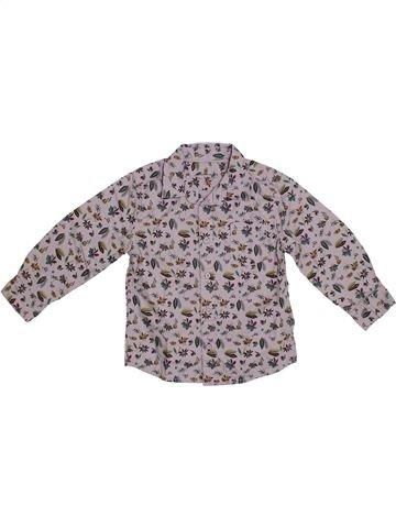 Camisa de manga larga niño MONOPRIX gris 3 años invierno #1308607_1