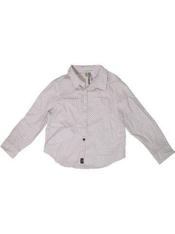 Camisa de manga larga niño ORCHESTRA blanco 3 años invierno #1308635_1
