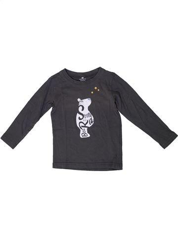 Camiseta de manga larga niño NAME IT gris 3 años invierno #1308667_1