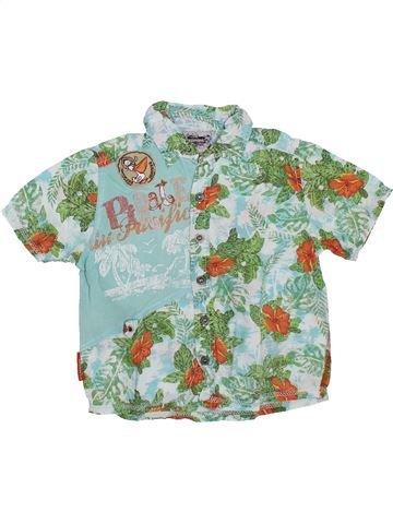 Chemise manches courtes garçon CATIMINI bleu 3 ans été #1308683_1