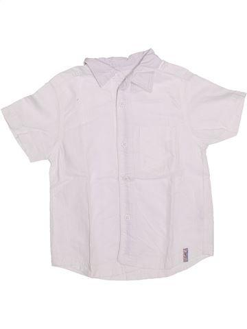 Chemise manches courtes garçon SERGENT MAJOR blanc 3 ans été #1308691_1