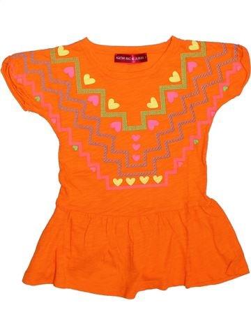 Robe fille AGATHA RUIZ DE LA PRADA orange 3 ans été #1308731_1