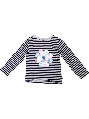 Camiseta de manga larga niña OKAIDI blanco 2 años invierno #1308765_1