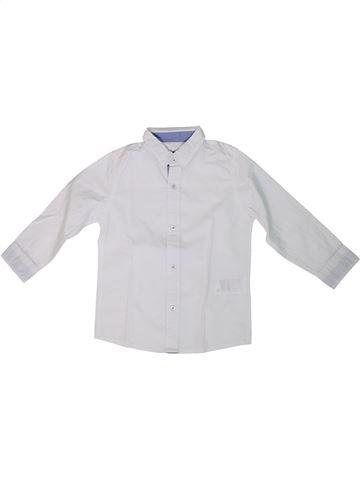 Camisa de manga larga niño VERTBAUDET blanco 3 años invierno #1308790_1