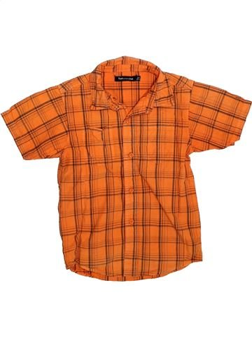 Camisa de manga corta niño TOUT COMPTE FAIT naranja 8 años verano #1308850_1