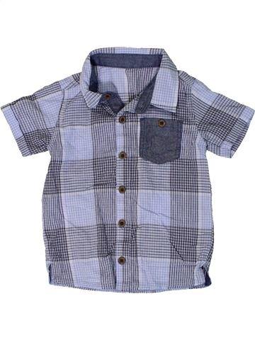 Camisa de manga corta niño GEORGE gris 18 meses verano #1309164_1