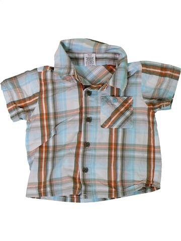 Camisa de manga corta niño SANS MARQUE gris 12 meses verano #1309579_1