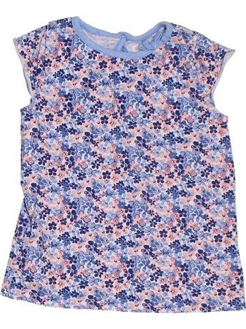 T-shirt manches courtes fille M&CO violet 3 ans été #1309883_1