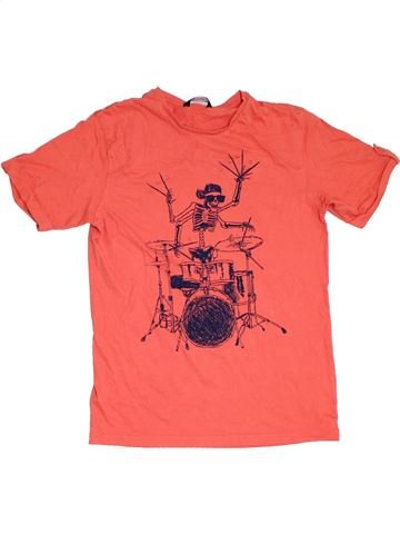 Camiseta de manga corta niño GEORGE rosa 14 años verano #1309994_1