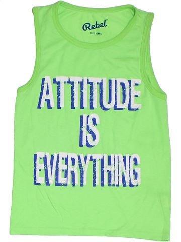 Top - Camiseta de tirantes niño PRIMARK verde 11 años verano #1310188_1
