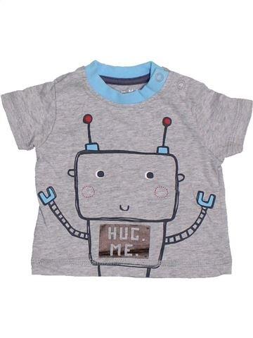 Camiseta de manga corta niño NUTMEG gris 1 mes verano #1310261_1